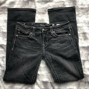 Miss Me Black Bootcut Jeans JPW5123-2